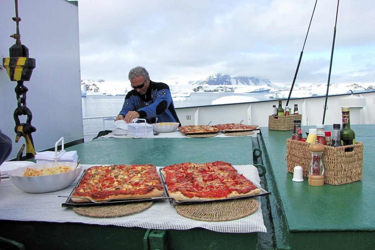 expedícia na Antarktídu