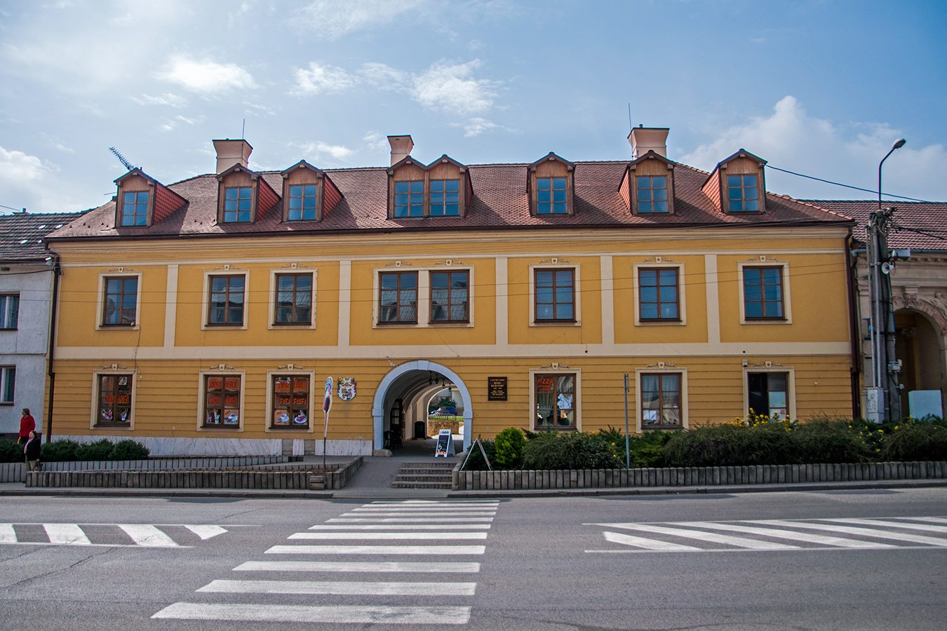 Vrbové - kúria Mórica Beňovského