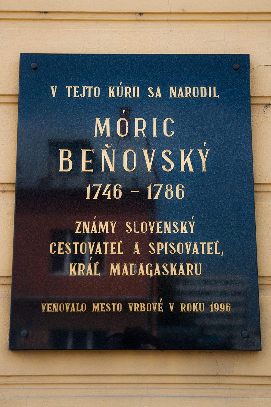 Móric Beňovský | Vrbové
