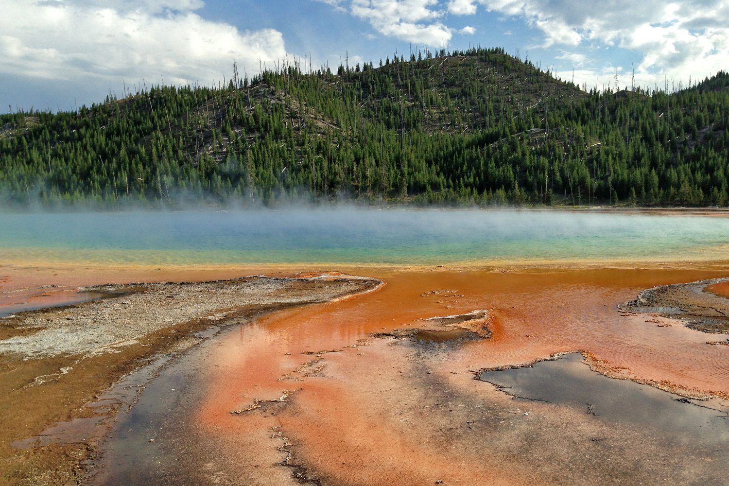 Yellowstone National Park - lake