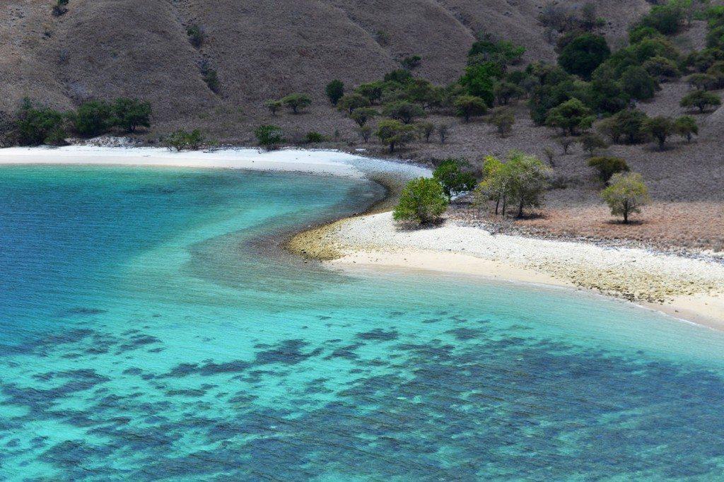 Pláže Komodo, Indonézia