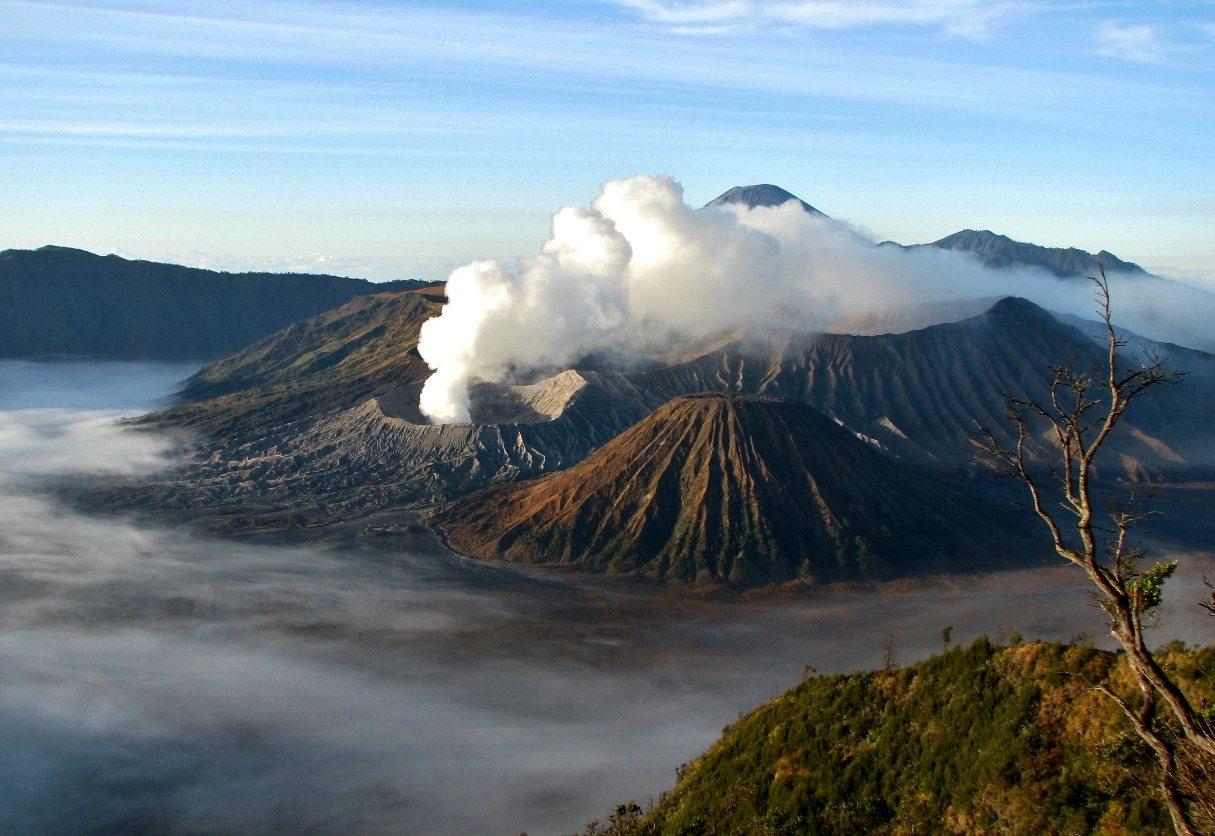Sopka Bromo, Indonézia