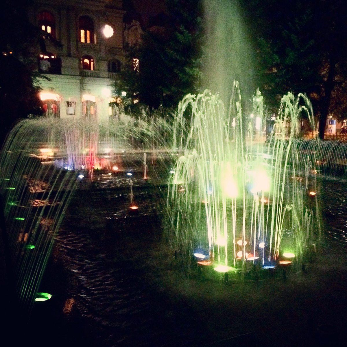 spievajuca fontana kosice