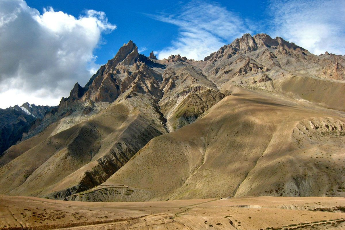 Himalája, India