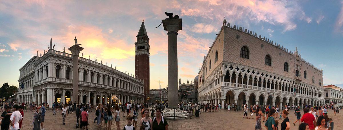 benátky námestie pri San Marco