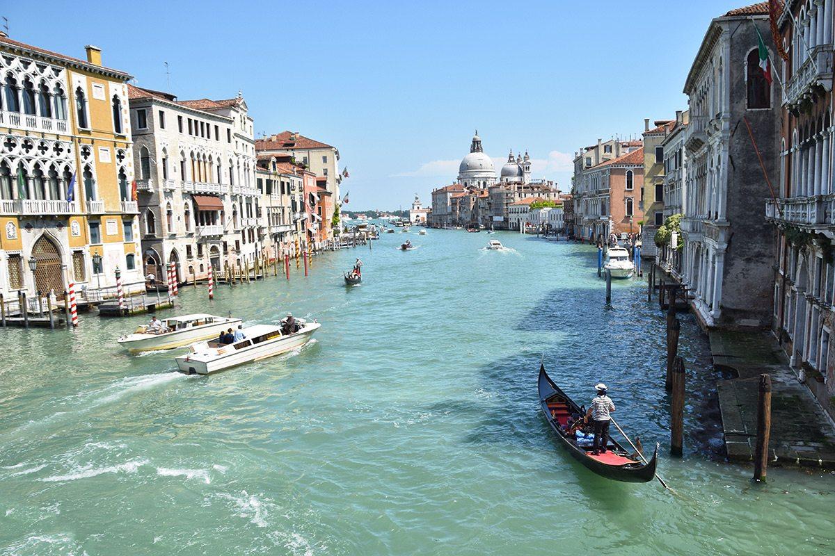benátky, Taliansko, Canal Grande