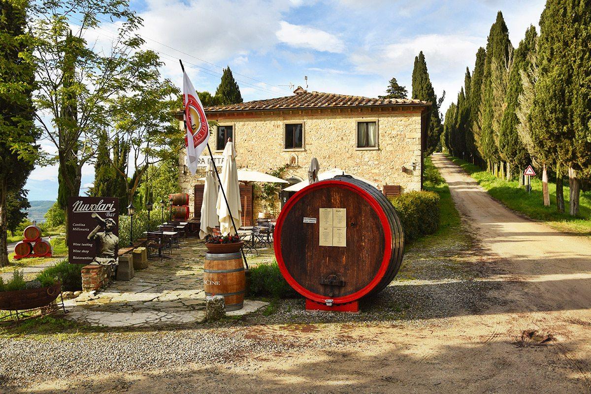 Chianti - vinársky región v Toskánsku