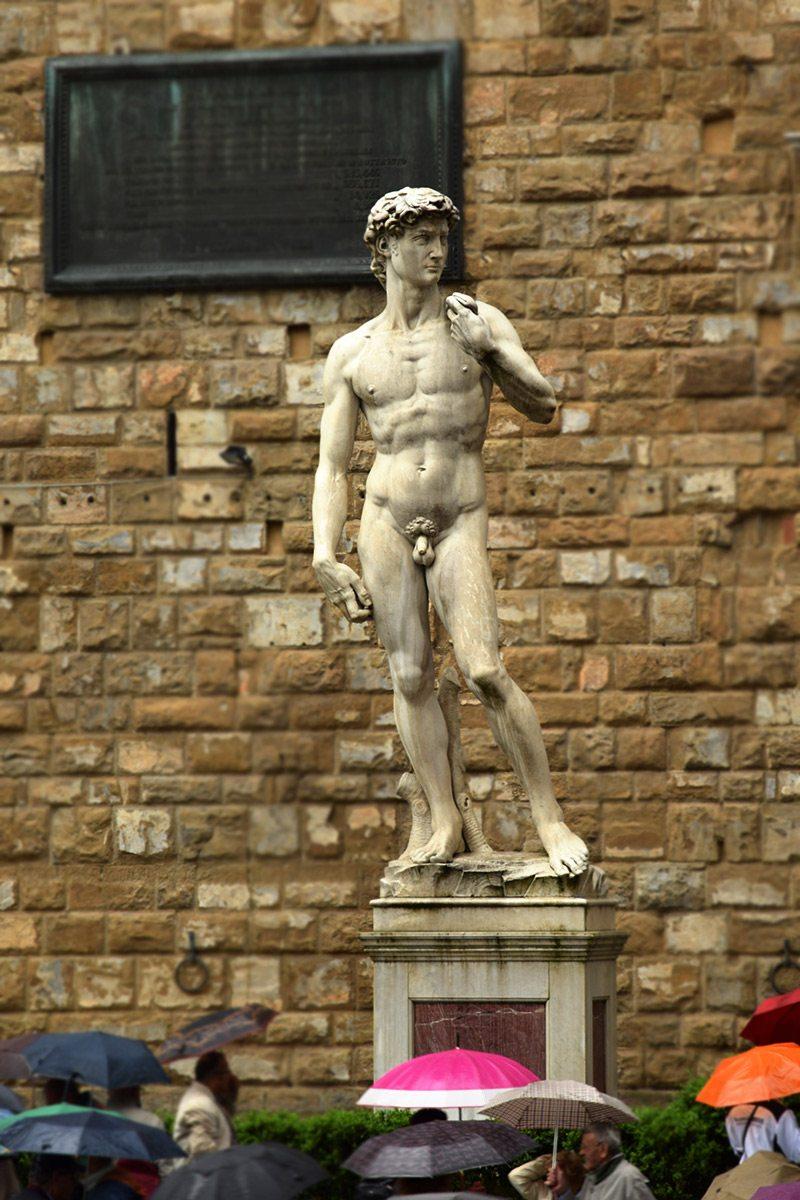 Dávid, Florencia - Michelangelo