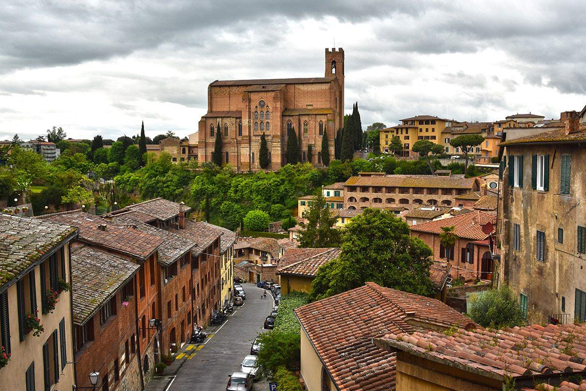 Siena, Toskánsko