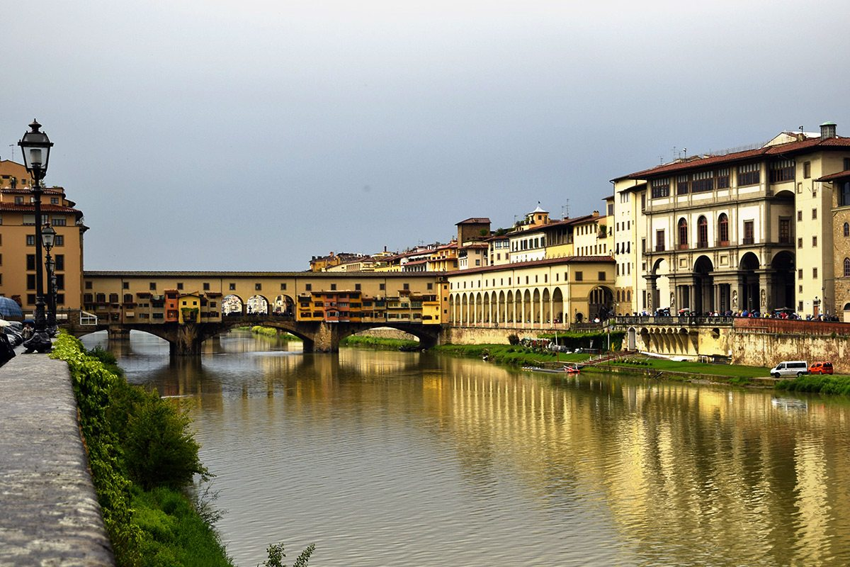 Ponte Vecchio, Florencia, Toskánsko