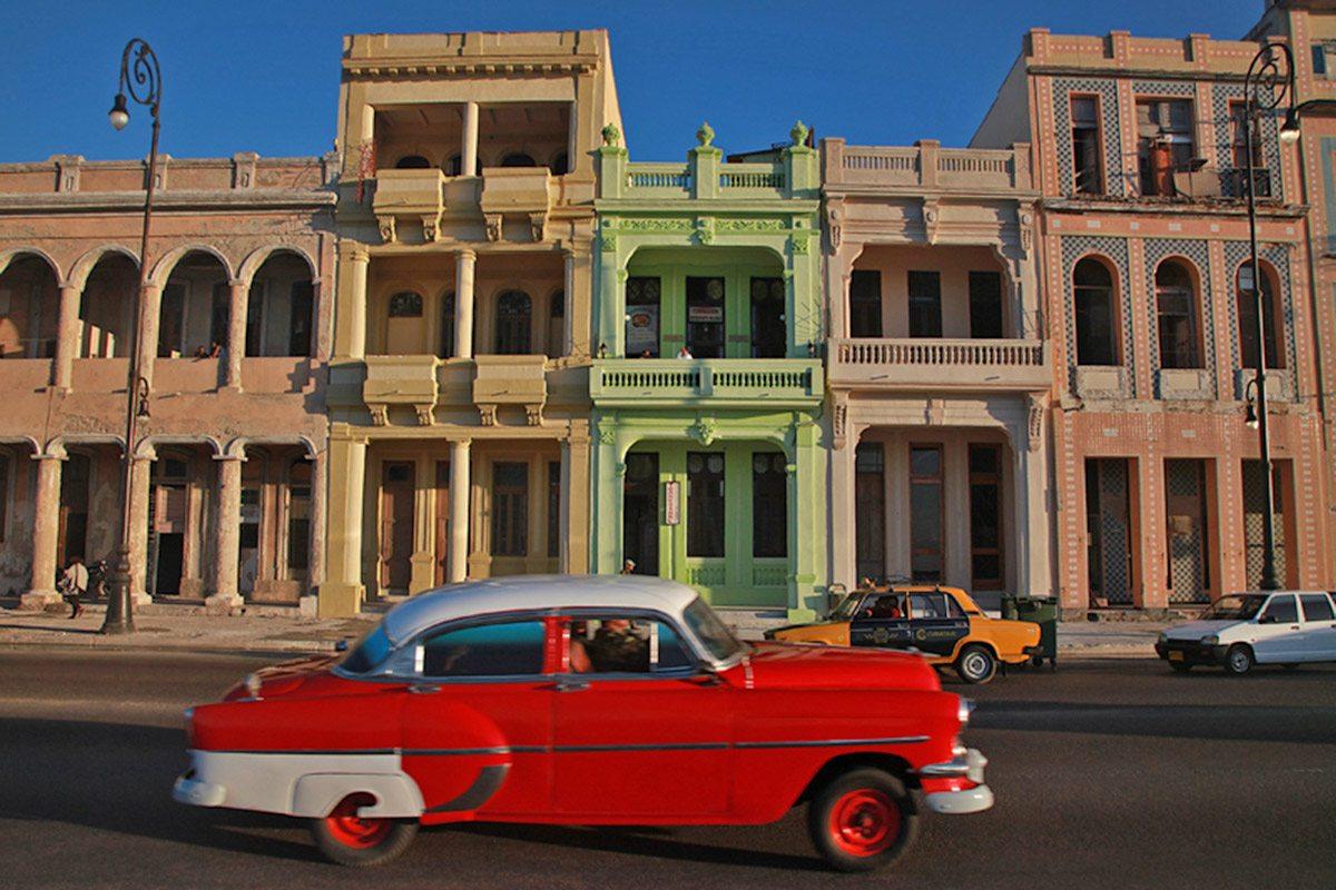 Havana, veterány na Kube