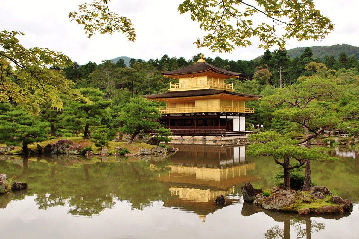 Zlatý chrám, Kjoto