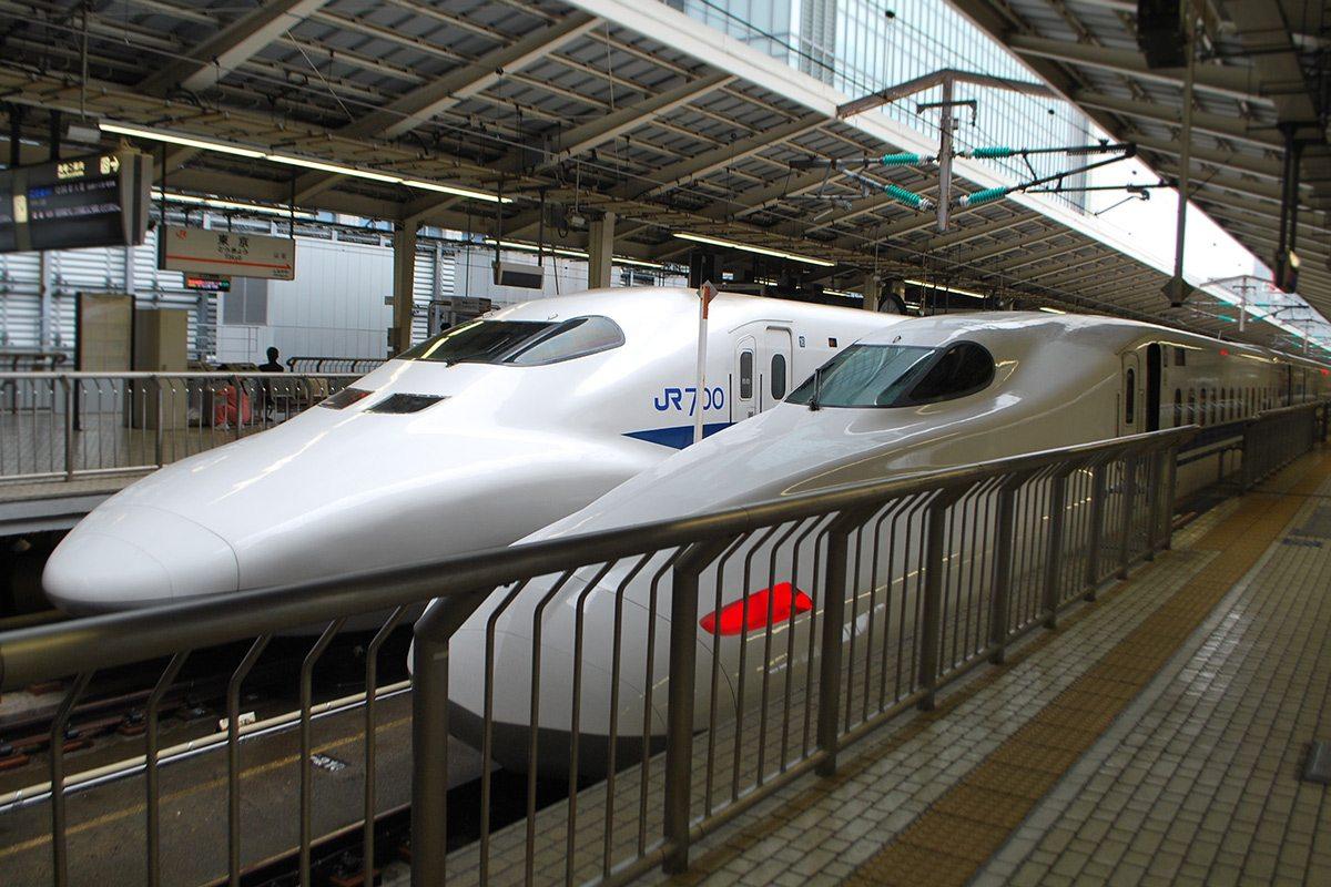 Sinkansen - rýchle japonské vlaky