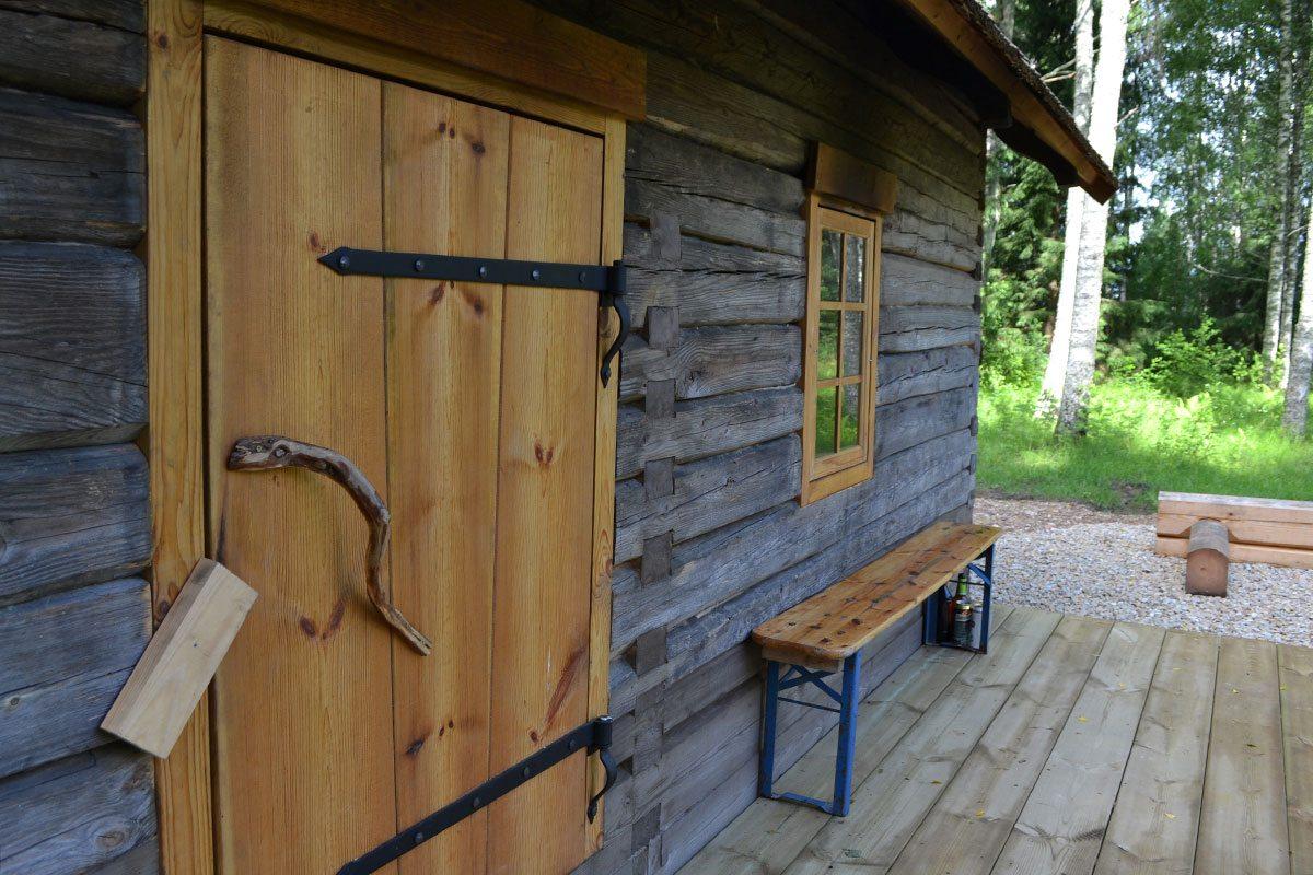 Dymová sauna - Estónsko