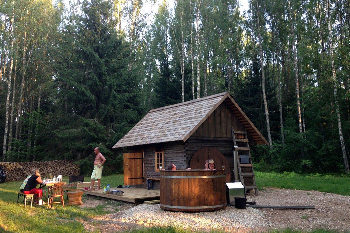 Sauna v Estónsku