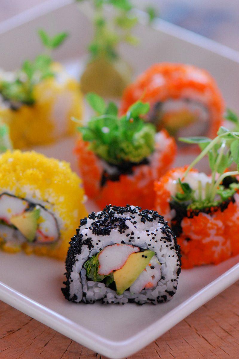 Japonsko - Sushi