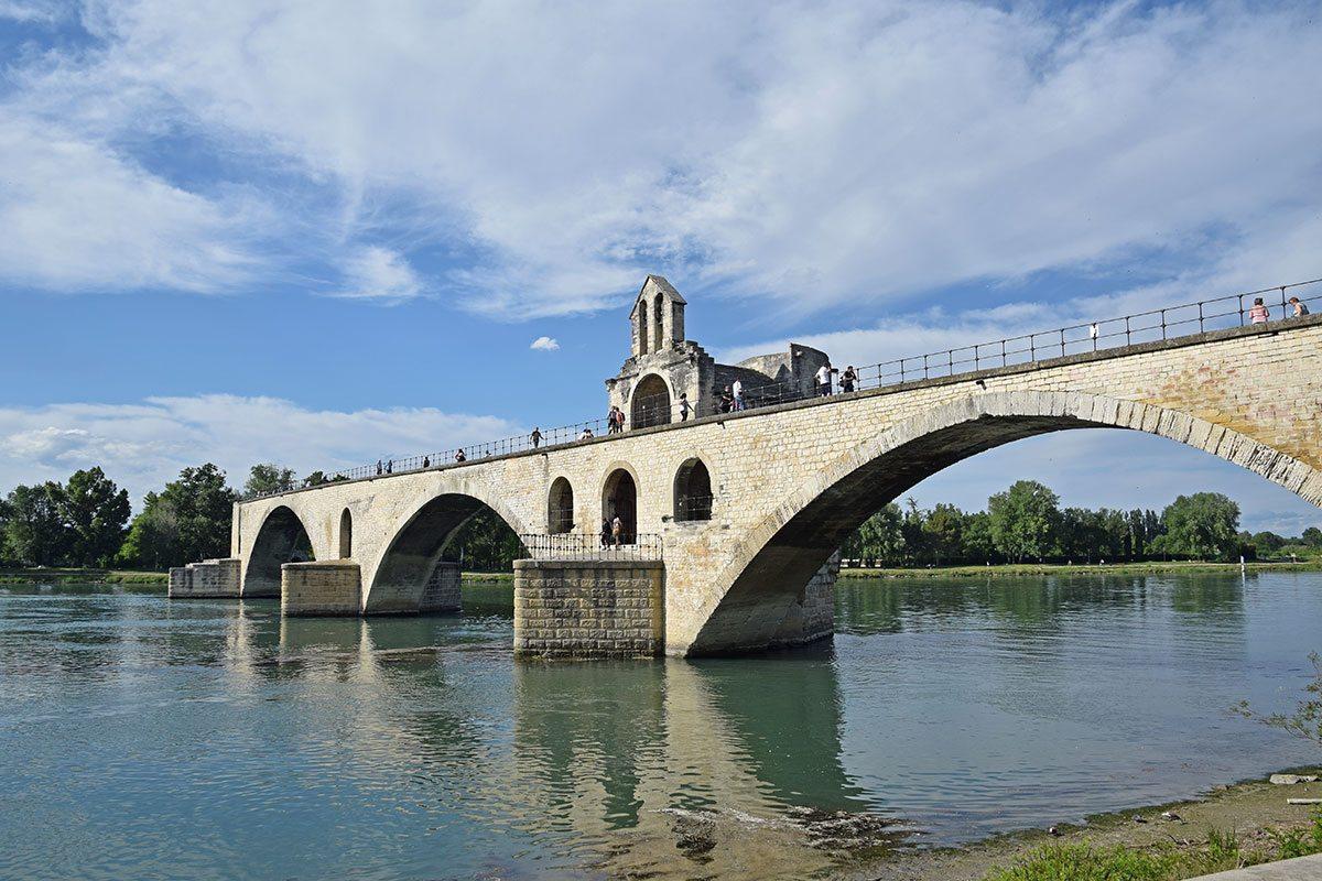 avignon - pápežský most