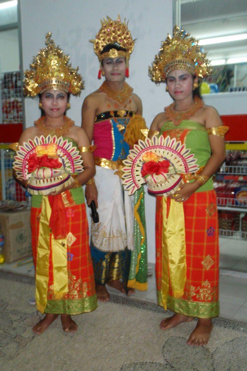 tradície a kultúra na Bali