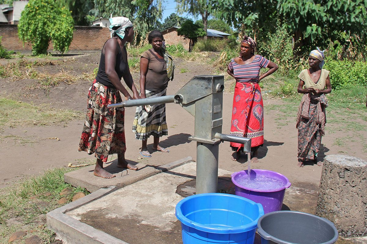ženy v Malawi