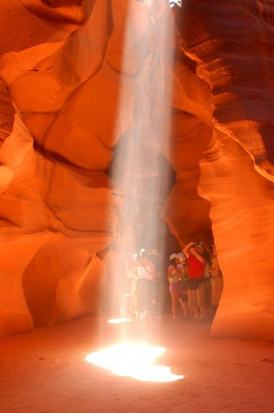 Antelope Canyon, Arizona — at Antelope Canyon.