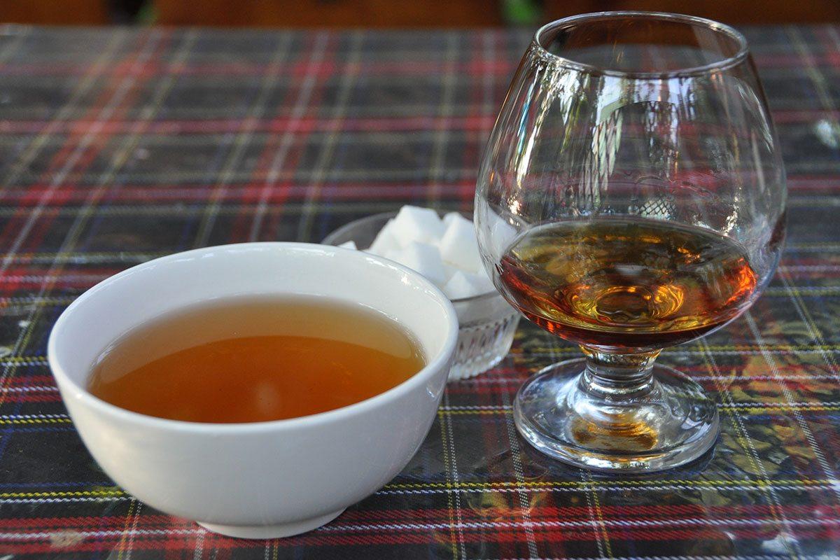 Čaj a koňak v Kirgizstane