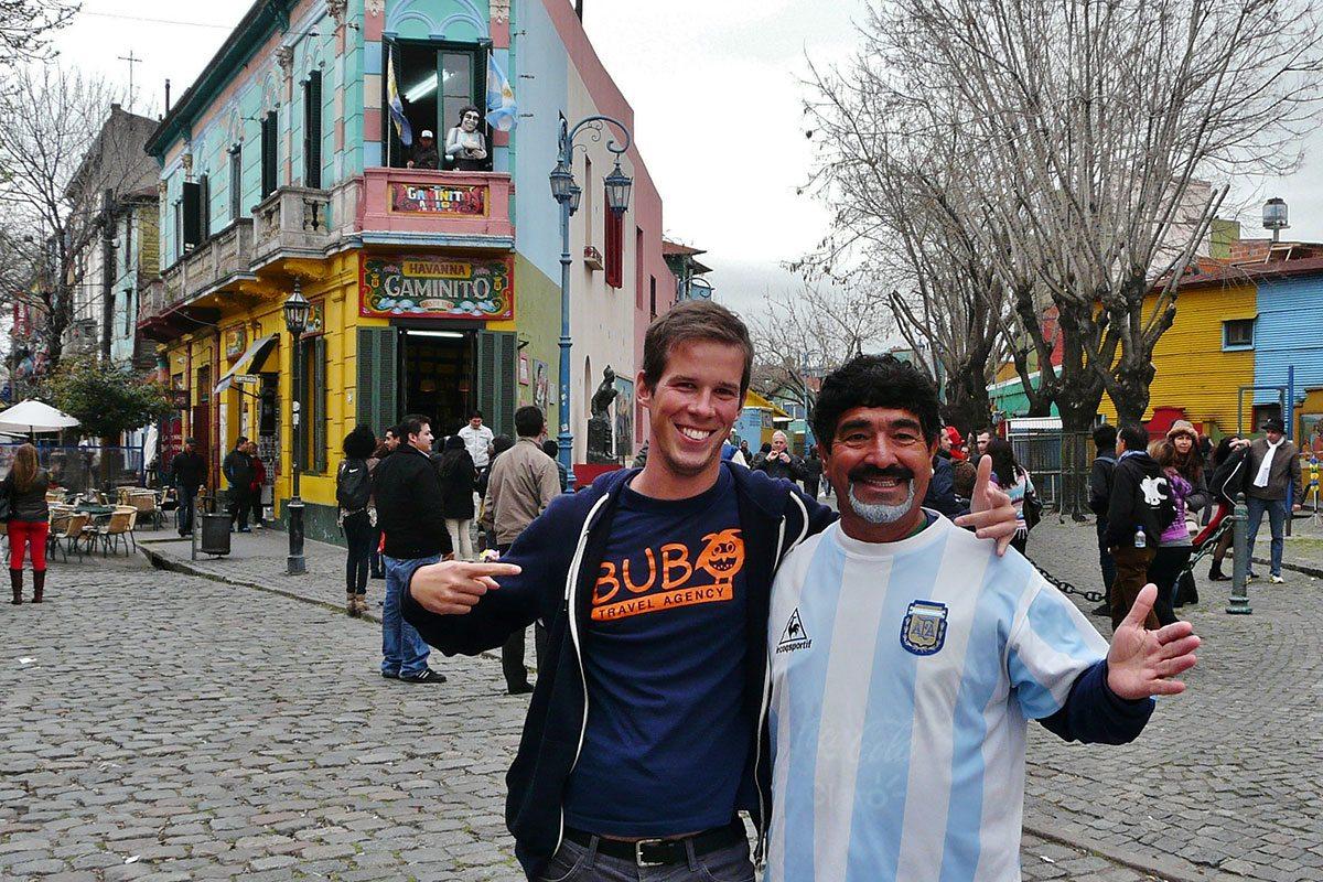 Peter Hliničan v Buenos Aires
