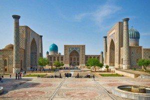 Samarkand, Uzbekistan - Hodvábna cesta