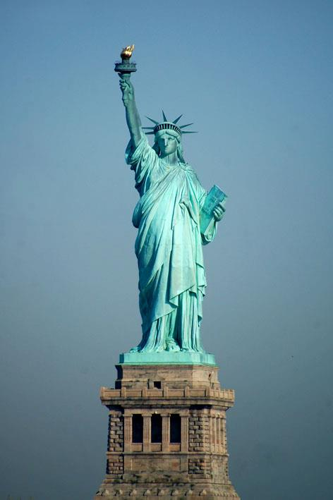 socha slobody - Stature of Liberty