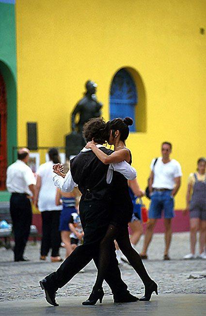argentínske tango v Buenos Aires