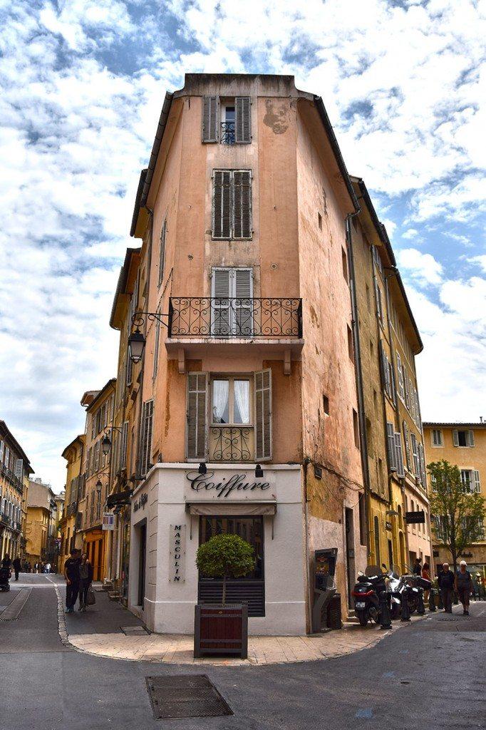 uličky Aix en Provence