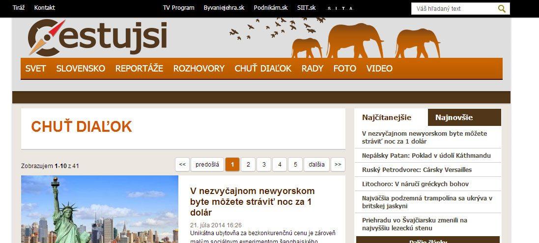 cestovateľský blog cestujsi.sk