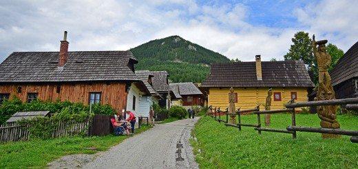 Village of Vlkolínec, Ružomberku