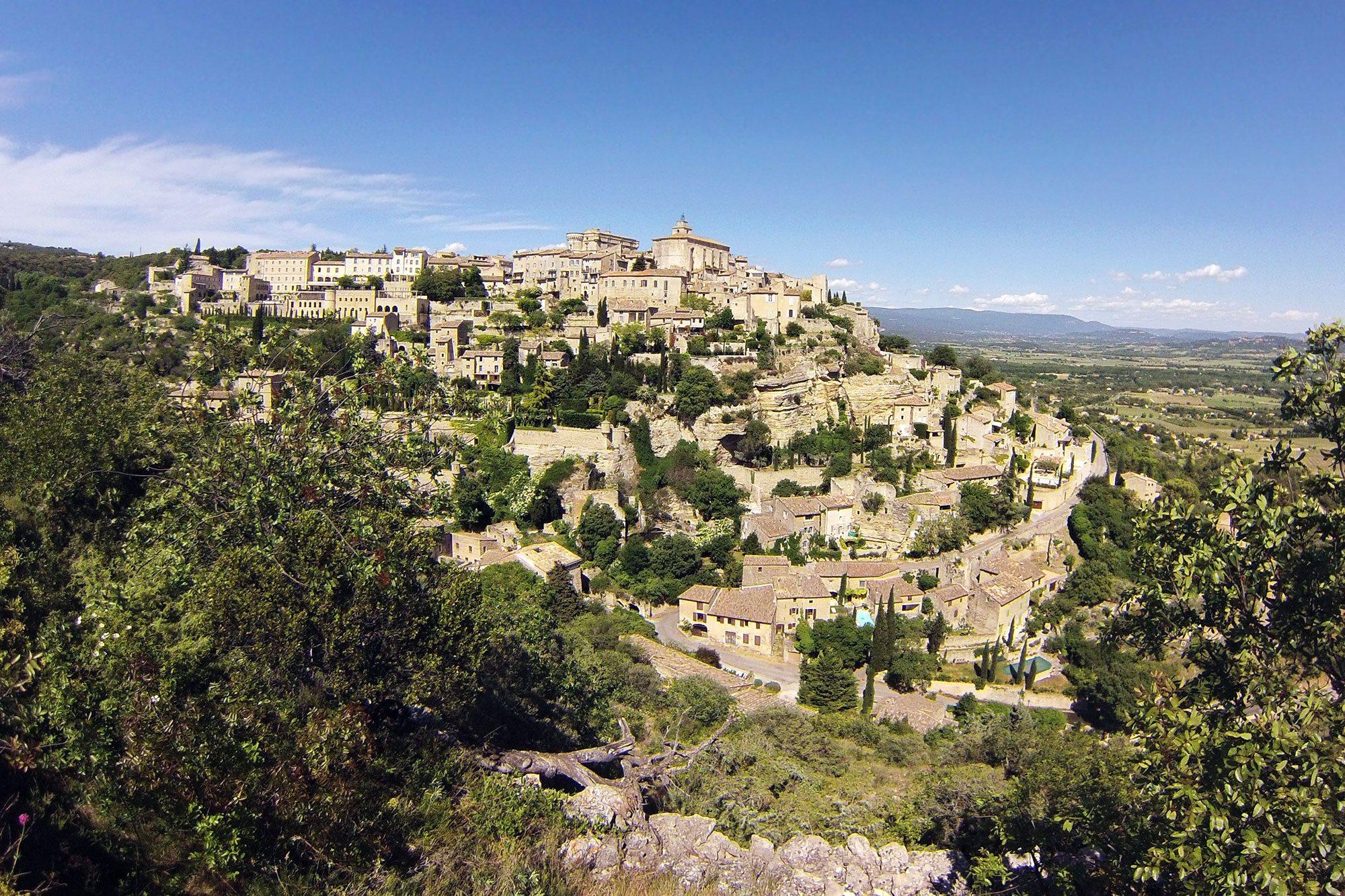 gordes - najkrajšie dedinky provensálska