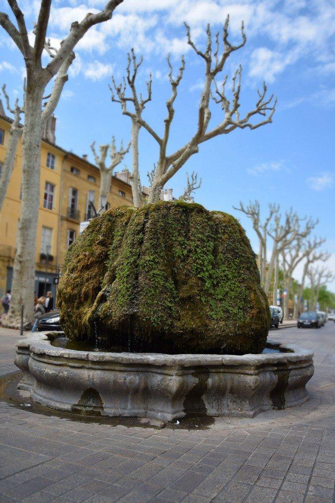 fontána v Aix