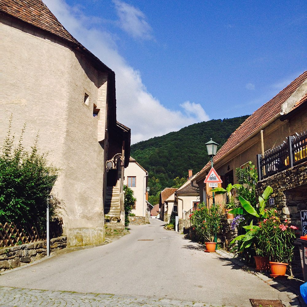 rakúske dedinky
