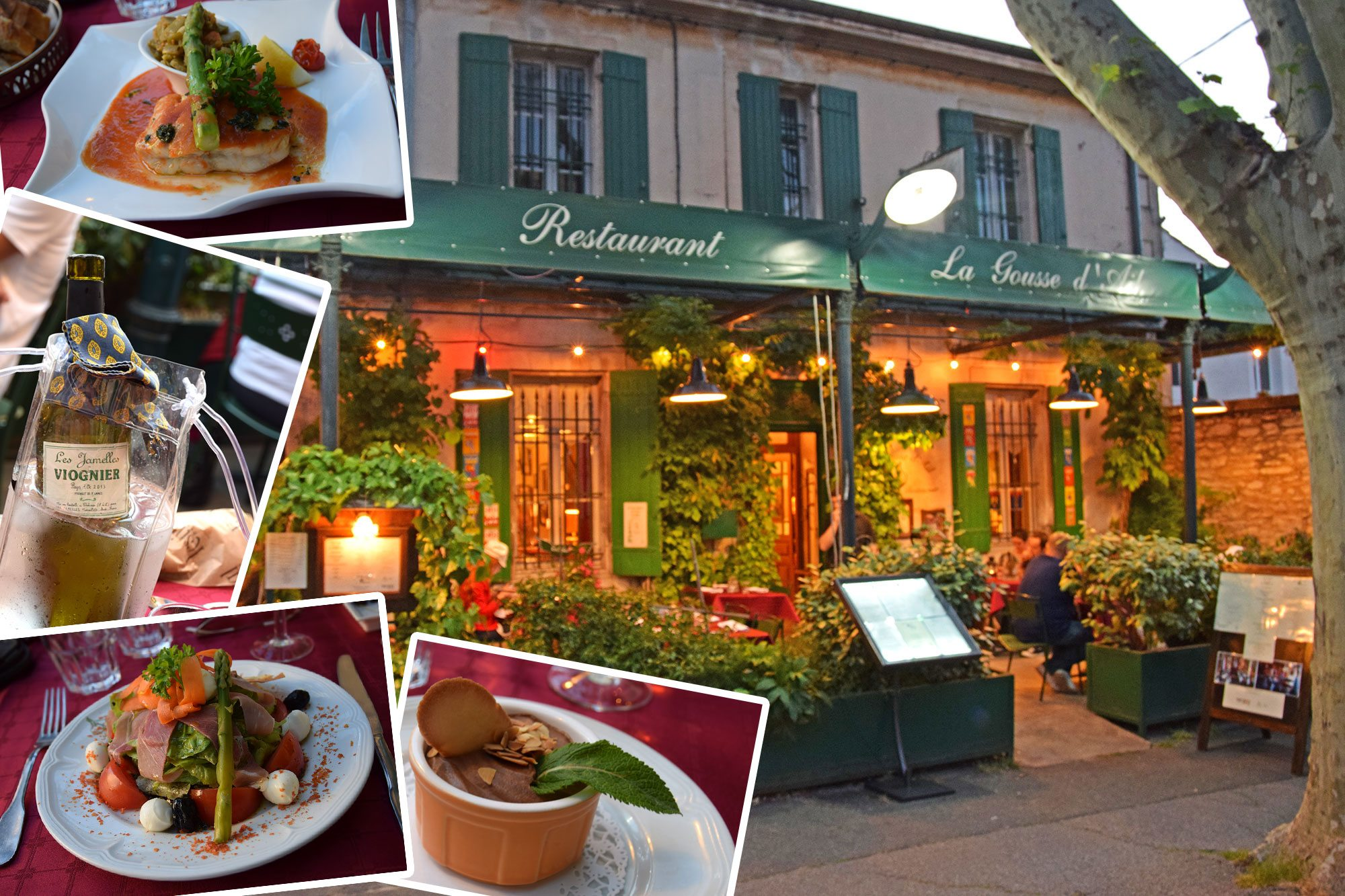 reštaurácia St. Remy