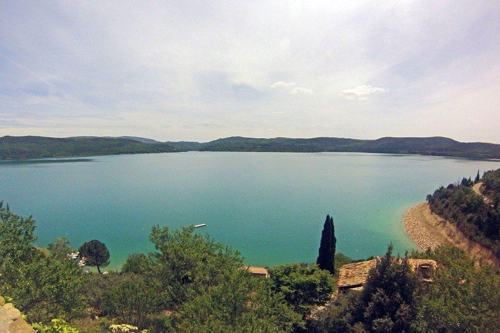 panorama jazera Verdon
