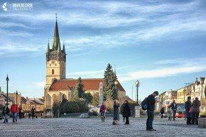 Prešov, Slovakia - Konkatedrála svätého Mikuláša