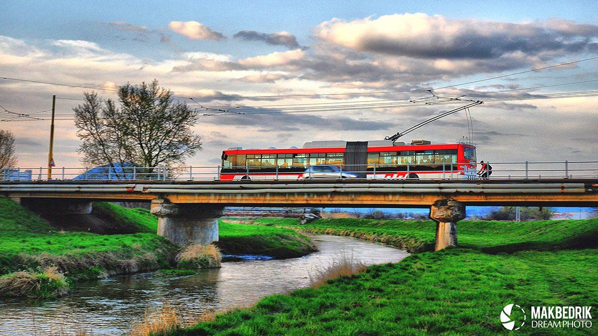 autobus na moste