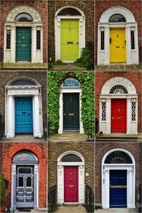 Írsko - dvere Dublinu