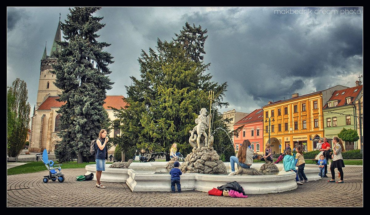 Fontána v Prešove