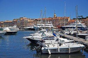 jachty v prístave St Tropez