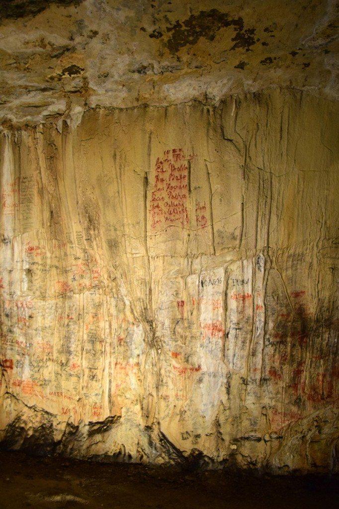 kniha návštev - demänovská ľadová jaskyňa