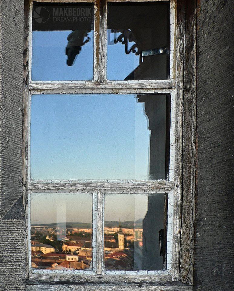 Prešov v okne