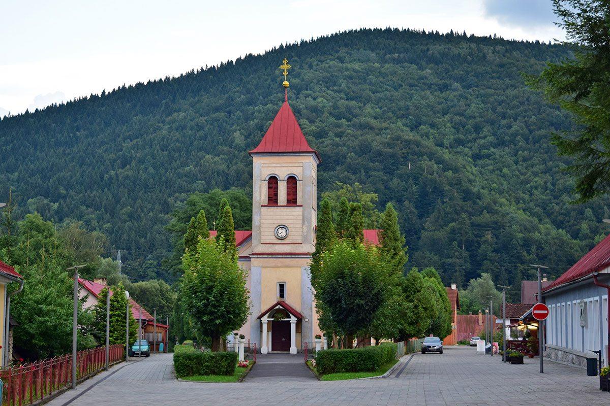 oravský podzámok kostol