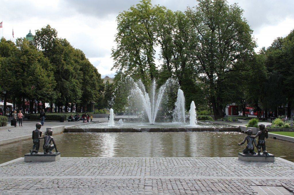 park pri parlamente