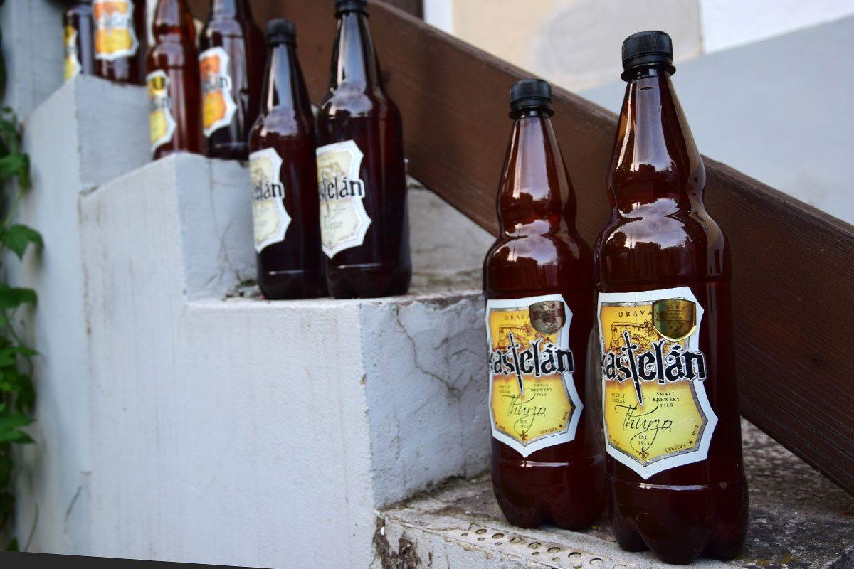 oravské pivo kastelan
