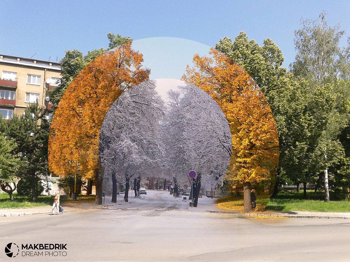 Prešov ročné obdobia