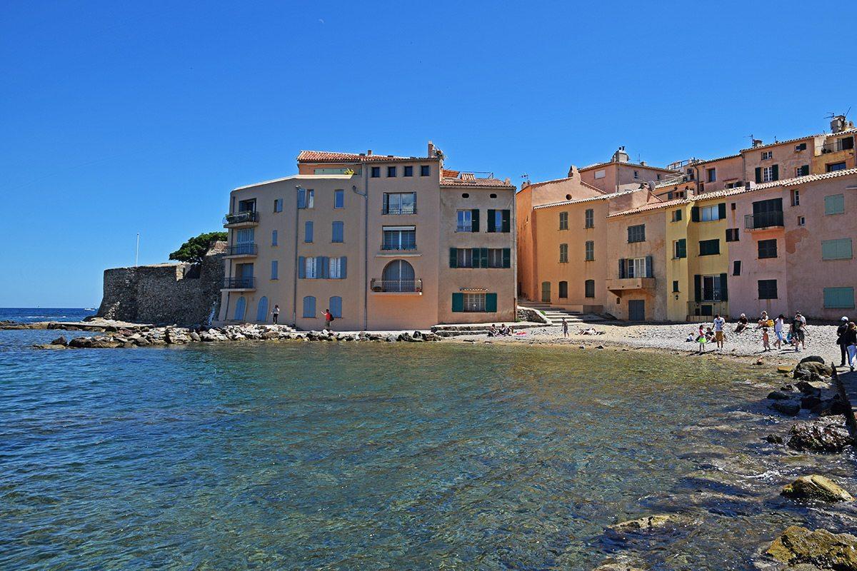 Saint Tropez pláž