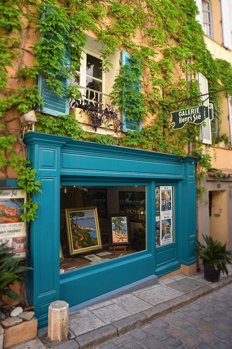 Saint Tropez uličky